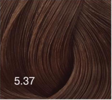 Купить Перманентный крем-краситель для волос Expert Color (8022033104199, 5/37, Светлый шатен золотисто-коричневый, 100 мл), Bouticle (Россия)
