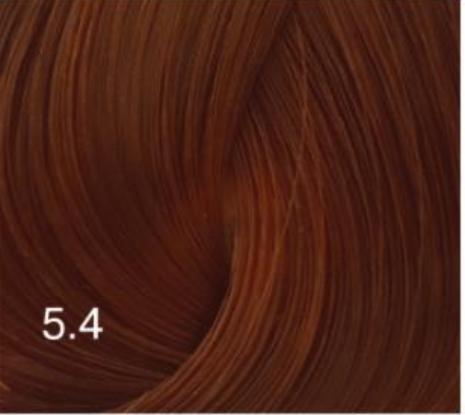 Купить Перманентный крем-краситель для волос Expert Color (8022033103581, 5/4, светлый шатен медный, 100 мл), Bouticle (Россия)