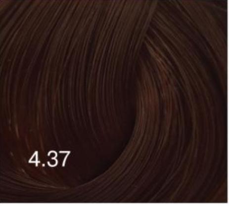 Купить Перманентный крем-краситель для волос Expert Color (8022033104182, 4/37, шатен золотисто-коричневый, 100 мл), Bouticle (Россия)
