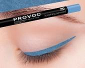 Купить Гелевая подводка в карандаше для глаз Provoc gel eye liner (PV0070, 70, Небесно-голубой, 1 шт, 1 шт), Provoc (Корея)