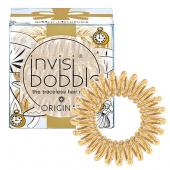 Резинка для волос Invisibobble Original (Inv_37, 37, сияющий золотой, 3 шт) фото