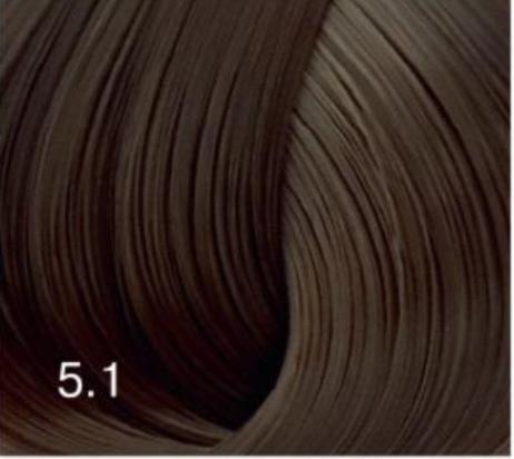 Купить Перманентный крем-краситель для волос Expert Color (8022033104083, 5/1, светлый шатен пепельный, 100 мл), Bouticle (Россия)