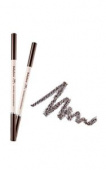 Карандаш для бровей It's Skin Babyface Powdery Wood Eyebrow (Темно-коричневый, 6020000931, 1, 11 г)