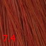 Стойкая крем-краска Superma color (3074, 60/7.4, блондин медный, 60 мл, Красные тона)