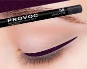 Купить Гелевая подводка в карандаше для глаз Provoc gel eye liner (PV0055, 55, Темный аметист, 1 шт, 1 шт), Provoc (Корея)