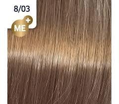 Koleston Perfect NEW - Обновленная стойкая крем-краска (81650837, 8/03, янтарь, 60 мл, Базовые тона) фото
