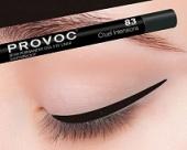 Купить Гелевая подводка в карандаше для глаз Provoc gel eye liner (PV0083, 83, Темно-коричневый, 1 шт, 1 шт), Provoc (Корея)