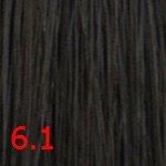 Стойкая крем-краска Superma color (3061, 60/6.1, емный блондин пепельный , 100 мл, Пепельные тона) фото