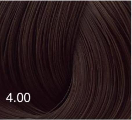Купить Перманентный крем-краситель для волос Expert Color (8022033103673, 4/00, Шатен для седины, 100 мл), Bouticle (Россия)