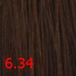 Купить Стойкая крем-краска Superma color (3634, 60/6.34, темный блондин золотисто-медный, 60 мл, Золотистые тона), FarmaVita (Италия)