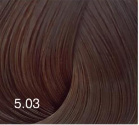 Купить Перманентный крем-краситель для волос Expert Color (8022033103758, 5/03, светлый шатен натурально-золотистый, 100 мл), Bouticle (Россия)
