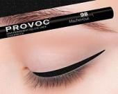 Купить Гелевая подводка в карандаше для глаз Provoc gel eye liner (PV0098, 98, Угольно-черный голографический, 1 шт, 1 шт), Provoc (Корея)