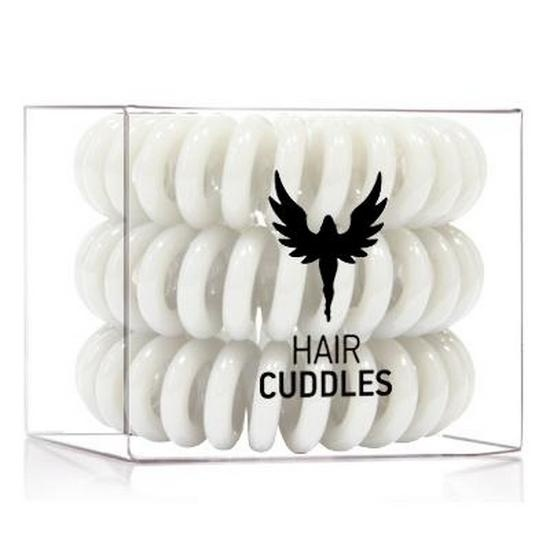 Резинка-браслет для волос Hair Bobbles HH Simonsen (HB315, Pearl-White, 3 шт, Жемчужно-белая) фото