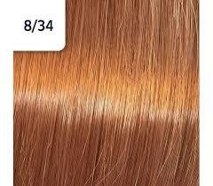 Koleston Perfect NEW - Обновленная стойкая крем-краска (81650843, 8/34, Чилийский оранжевый, 60 мл, Базовые тона) фото