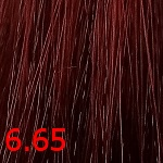 Перманентная крем-краска Ollin N-JOY (396482, 6/65, темно-русый красно-махагоновый, 100 мл, Базовые оттенки) фото