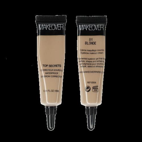 Водостойкий гель для бровей Waterproof Eyebrow Corrector (EB3801, 01, Blonde, 1 шт)
