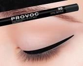 Купить Гелевая подводка в карандаше для глаз Provoc gel eye liner (PV0090, 90, черный, 1 шт), Provoc (Корея)