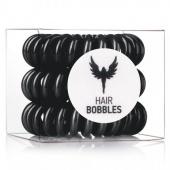 Резинка-браслет для волос Hair Bobbles HH Simonsen (20013, Black, 3 шт, Черная) фото