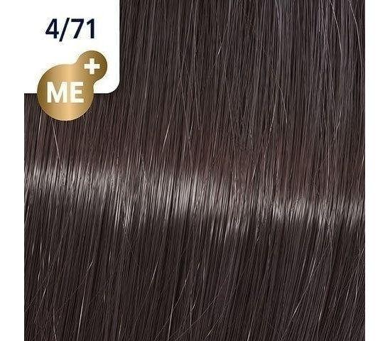 Koleston Perfect NEW - Обновленная стойкая крем-краска (81650650, 4/71, тирамису, 60 мл, Базовые тона) Wella