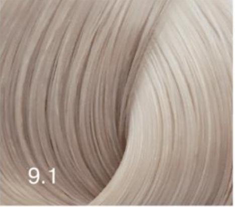 Купить Перманентный крем-краситель для волос Expert Color (8022033104120, 9/1, блондин пепельный, 100 мл), Bouticle (Россия)