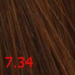 Купить Стойкая крем-краска Superma color (3734, 60/7.34, блондин золотисто-медный, 60 мл, Золотистые тона), FarmaVita (Италия)