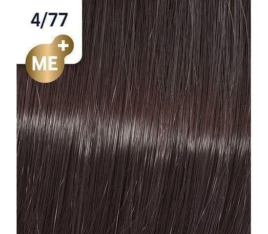 Koleston Perfect NEW - Обновленная стойкая крем-краска (81650652, 4/77, горячий шоколад, 60 мл, Базовые тона) фото