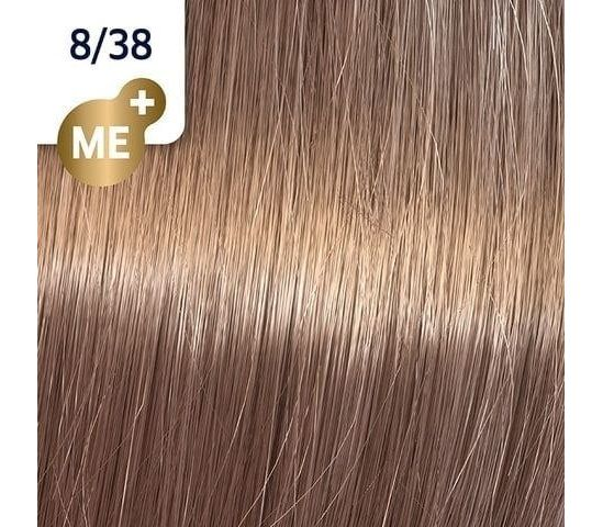 Koleston Perfect NEW - Обновленная стойкая крем-краска (81650844, 8/38, Золотая умбра, 60 мл, Базовые тона) фото
