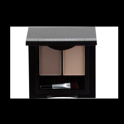 Двойные тени для бровей Perfect Brow Duo (EB0103, 03, Ash Grey, 3 г)