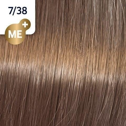 Koleston Perfect NEW - Обновленная стойкая крем-краска (81650701, 7/38, Пряный бисквит, 60 мл, Базовые тона) фото