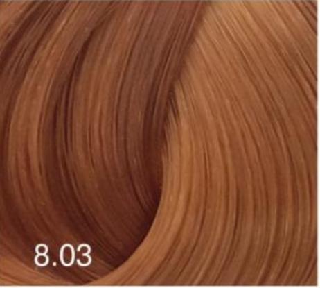 Купить Перманентный крем-краситель для волос Expert Color (8022033103789, 8/03, светло-русый натурально-золотистый, 100 мл), Bouticle (Россия)
