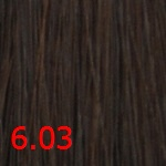 Стойкая крем-краска Superma color (3603, 60 /6.03, теплый темный блондин , 60 мл, Теплые естественные тона) фото