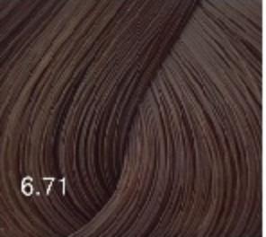Купить Перманентный крем-краситель для волос Expert Color (8022033103987, 6/71, темно-русый коричнево-пепельный, 100 мл), Bouticle (Россия)