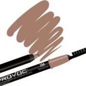 Купить Гелевая подводка в карандаше для бровей Eye brow liner (PV0104, 104, Светло-коричневый, 1 шт, 1 шт), Provoc (Корея)