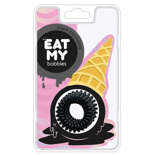 Купить Резинки для волос Black chocolate - Чёрный шоколад, Eat My Bobbles (Корея)