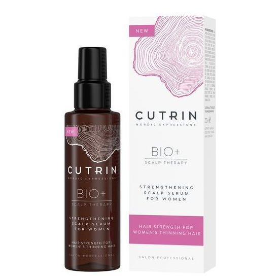 Купить Сыворотка-бустер для укрепления волос у женщин Strengthening Bio+, Cutrin (Финляндия)