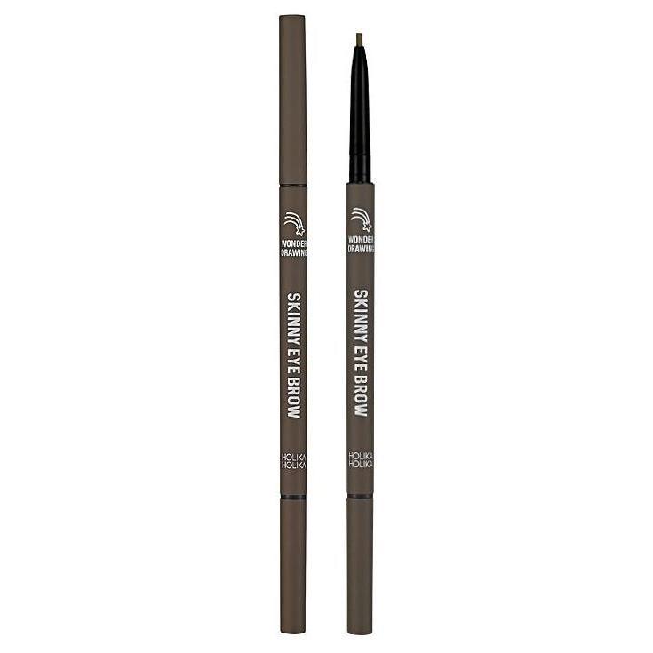 Карандаш для бровей Wonder Drawing Skinny Eye Brow (20015806, 06, шоколадно-коричневый, 5 г) фото