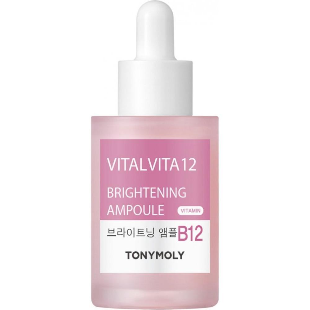 Купить Осветляющая сыворотка для лица Vital Vita 12 Brightening Ampoule, TonyMoly (Корея)