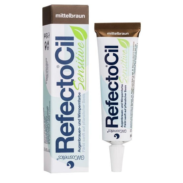 Купить Краска для бровей и ресниц для чувствительной кожи Коричневая RefectoCil Sensetiv, Refectocil (Австрия)