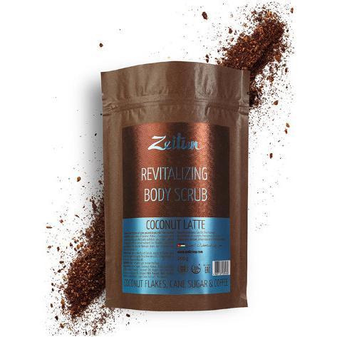 Купить Омолаживающий скраб для тела Кокосовый латте (Z2033, 50 г), Zeitun (Иордания)