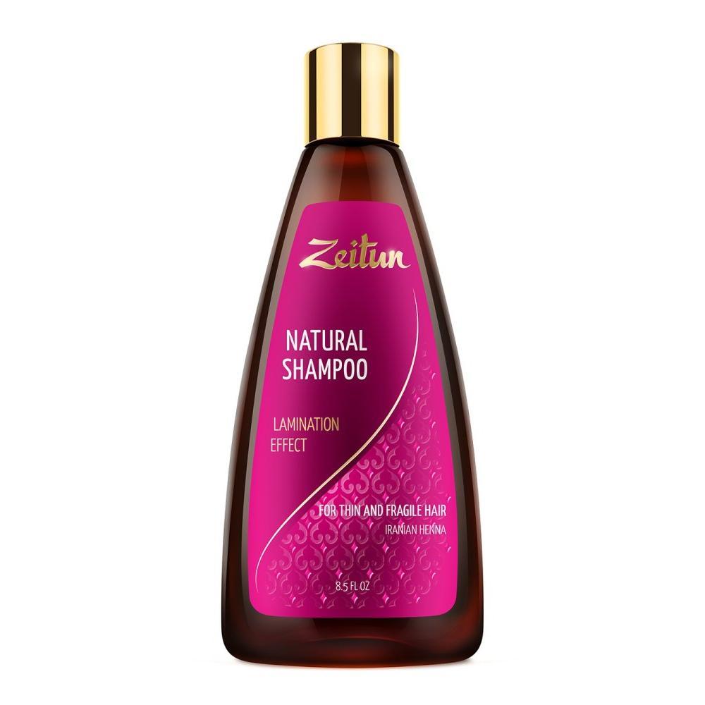 Купить Шампунь для волос Эффект ламинирования, Zeitun (Иордания)
