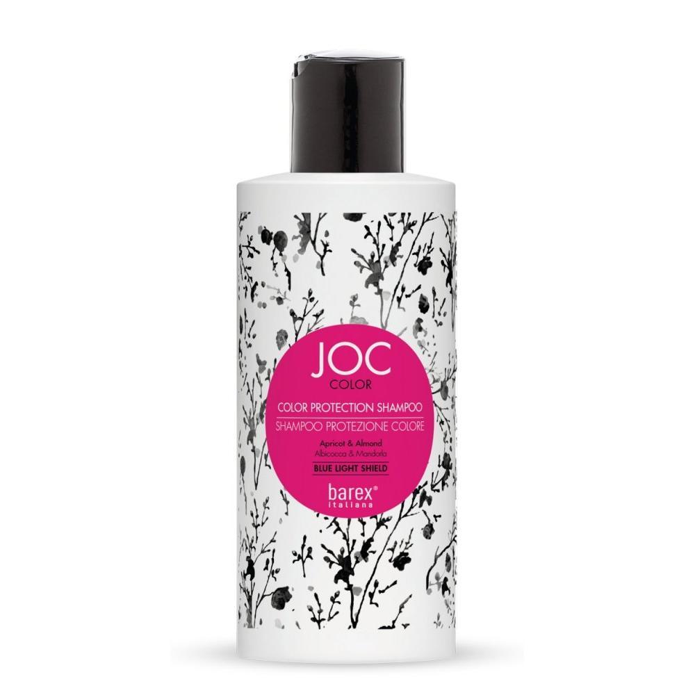 Шампунь с абрикосом и миндалем Стойкость цвета Joc Color (140001, 250 мл) фото
