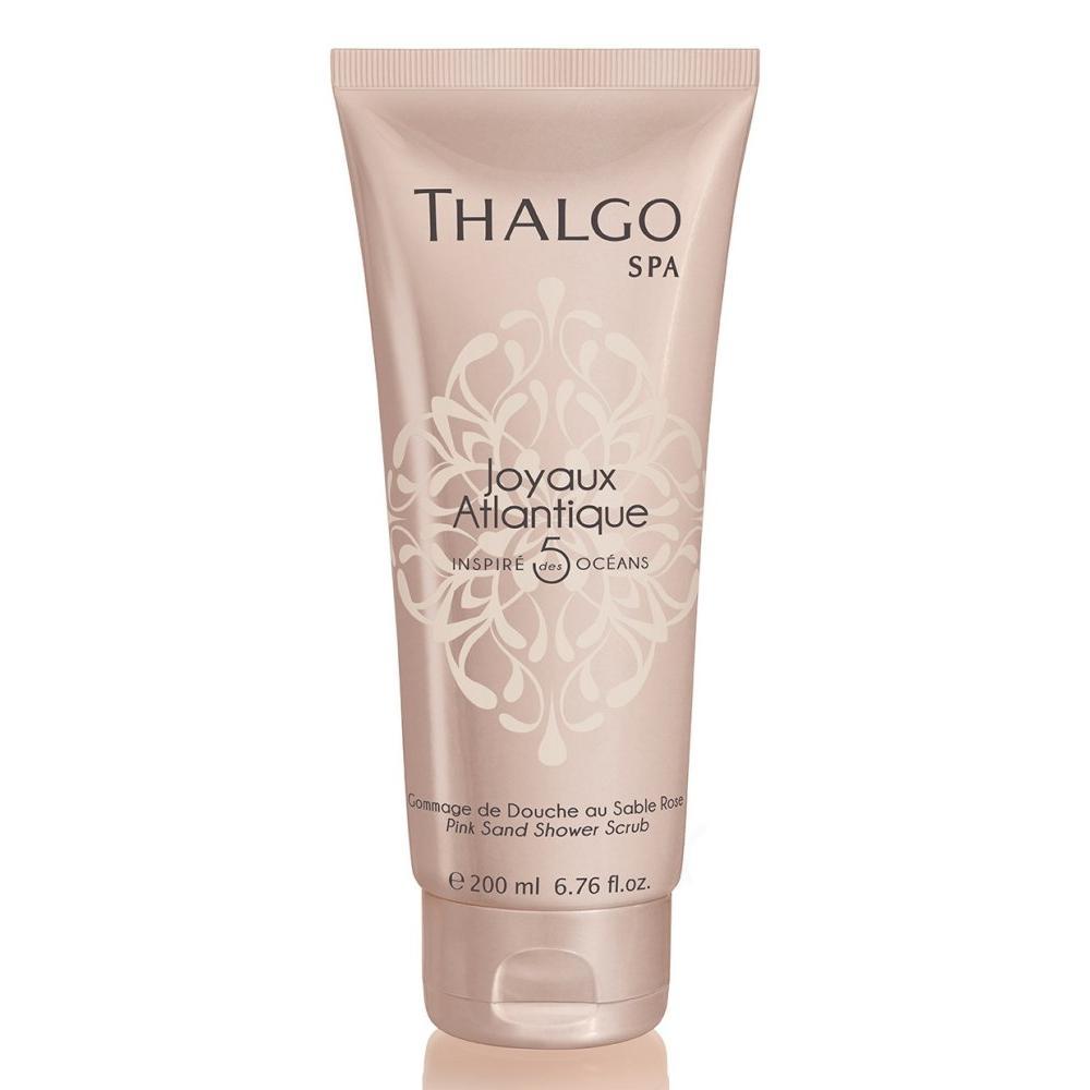 Купить Драгоценный скраб для душа Розовый песок Атлантики Pink Sand Shower Scrub (VT18008, 200 мл), Thalgo (Франция)