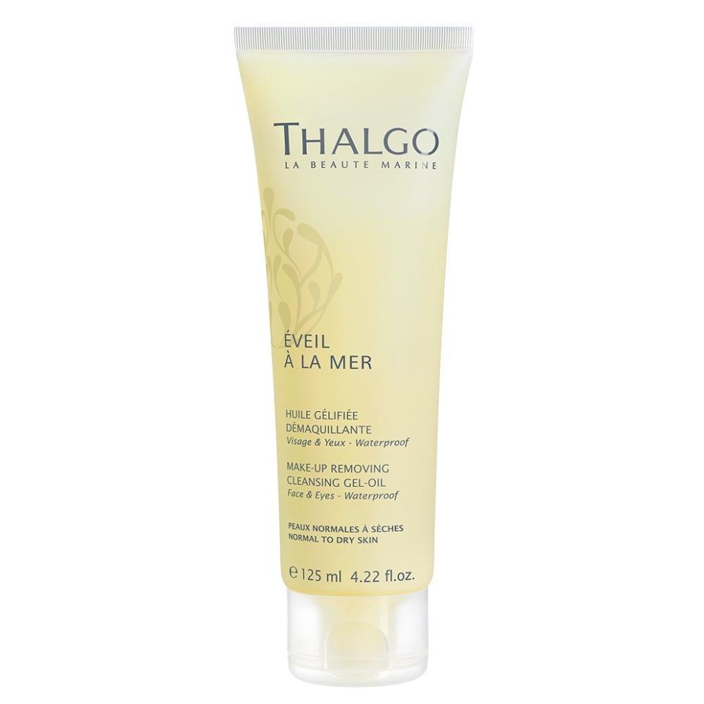 Купить Очищающее гель-масло для снятия макияжа с трансформирующейся текстурой Make-up Removing Cleansing Gel Oil (VT18024, 125 мл), Thalgo (Франция)