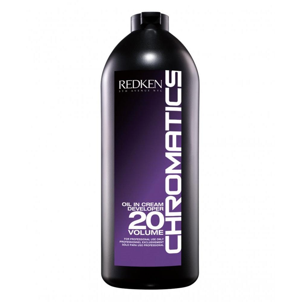 Проявитель крем-масло для краски Chromatics 20vol 6% Redken