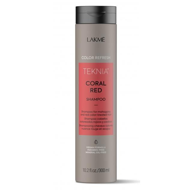 Шампунь для обновления цвета красных оттенков волос Refresh Coral Red Shampoo (44232, 300 мл) фото