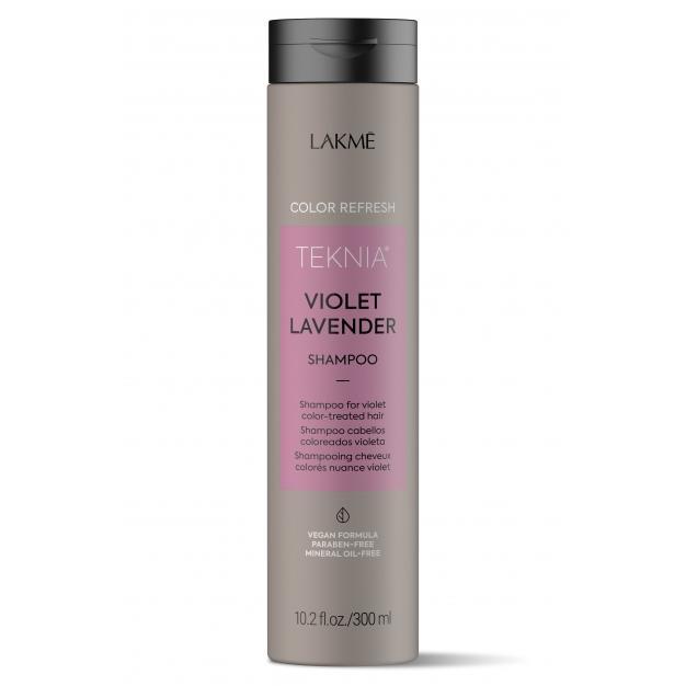 Шампунь для обновления цвета фиолетовых оттенков волос Refresh Violet Lavender Shampoo (44272, 300 мл) фото