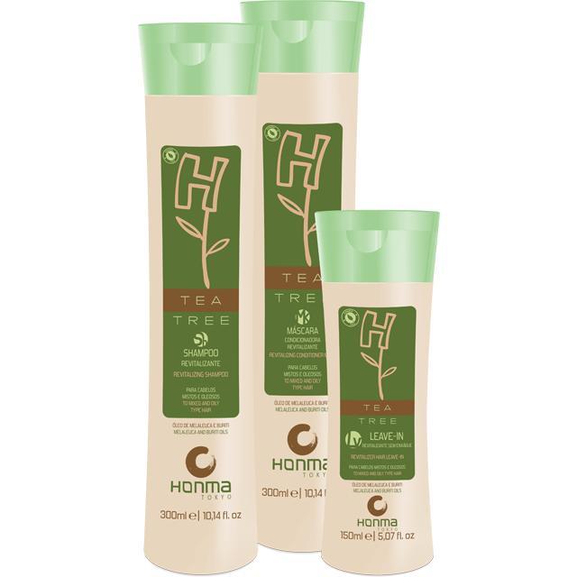Купить Набор для нормализации волос с жирной кожей головы H-Tea Tree 300-150, Honma Tokyo (Япония/Бразилия)