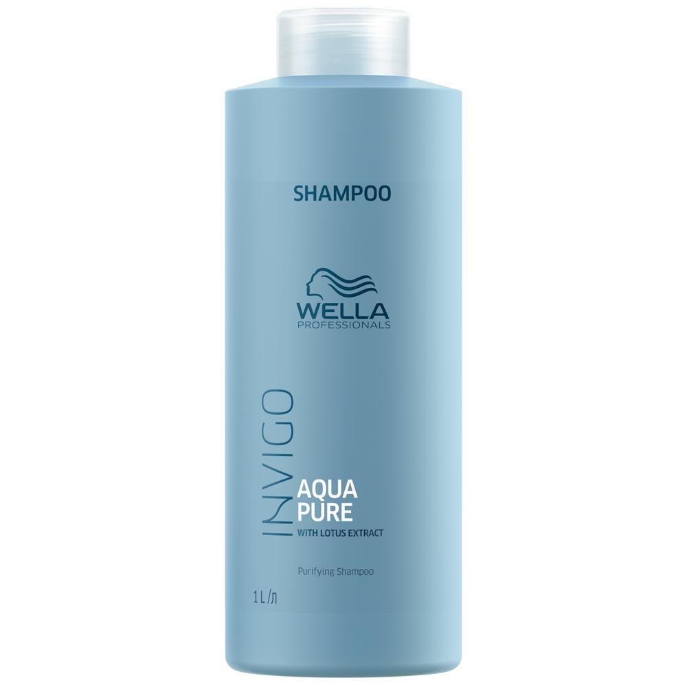 Очищающий шампунь Balance Aqua Pure Wella