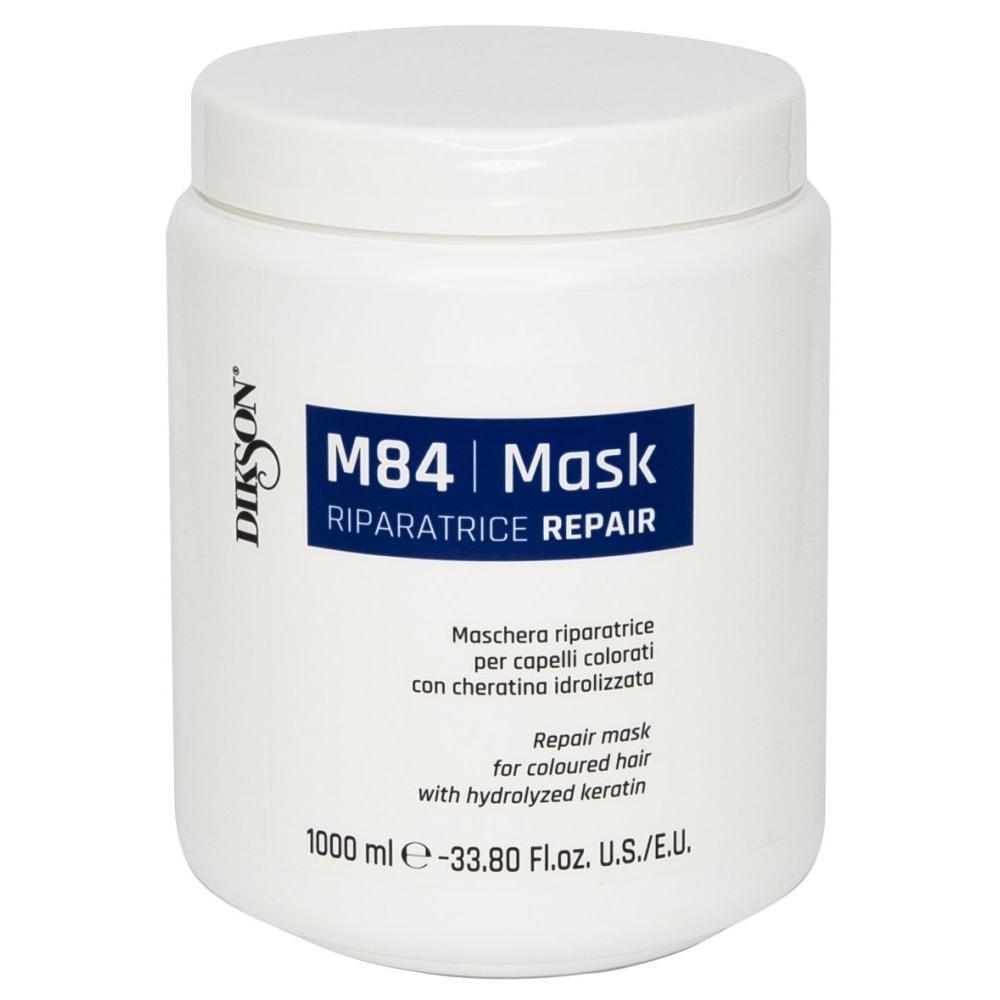 Купить Восстанавливающая маска для окрашенных волос с гидролизированным кератином Mask R Repair M84 (834, 1000 мл), Dikson (Италия)