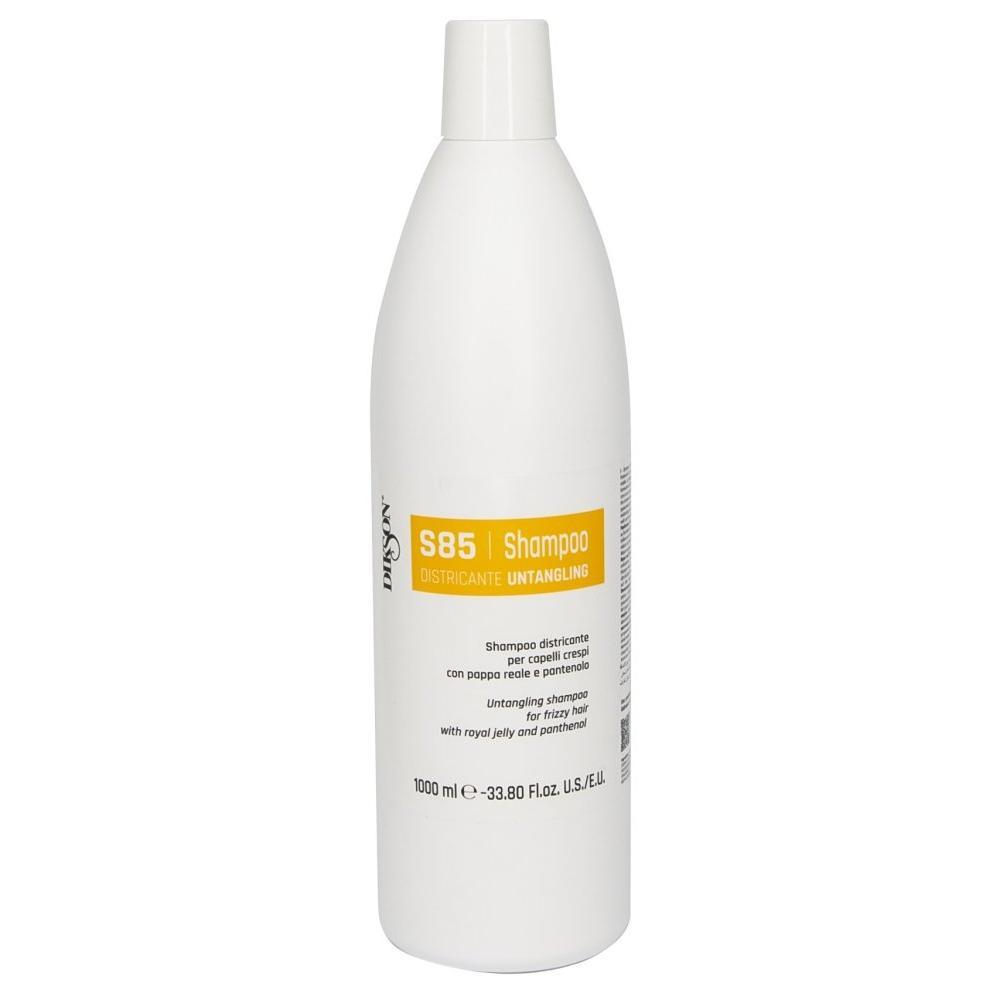 Шампунь для облегчения расчёсывания с маточным молочком и пантенолом Shampoo Districante S85 (845, 1000 мл) Dikson